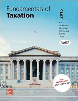 9781259293092: Fundamentals of Taxation 2015- 8th Edition