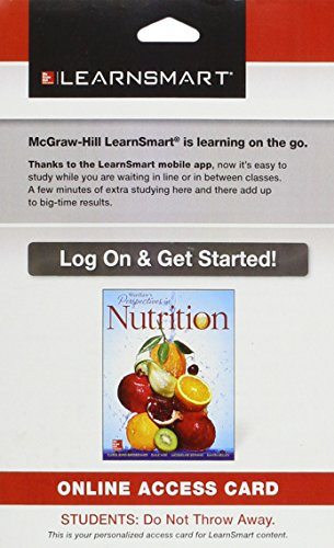9781259295171: LearnSmart Standalone Access Card for Wardlaw's Perspectives in Nutrition 10e