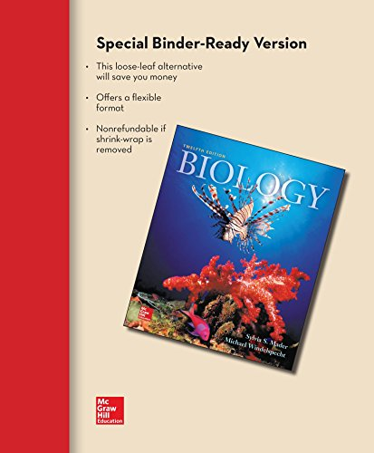 9781259296482 biology 12th edition by sylvia s mader michael biology 12th edition sylvia s mader fandeluxe Choice Image