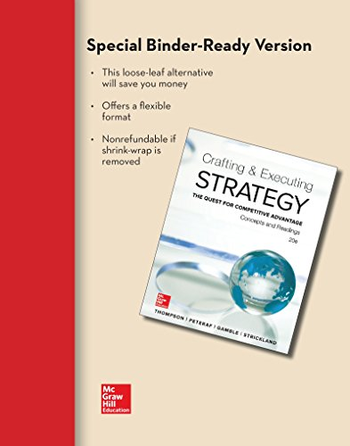 9781259297762: Loose-Leaf Crafting & Executing Strategy: Concepts and Readings