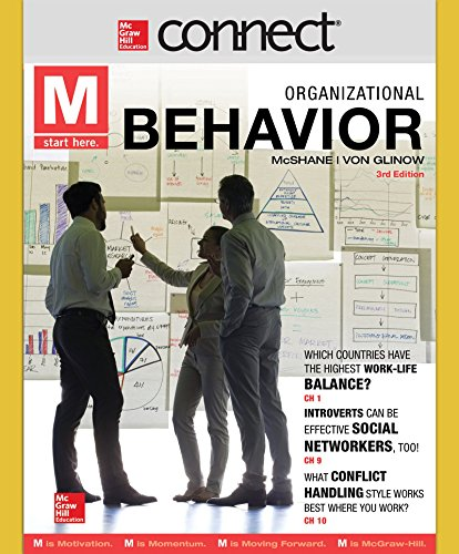 9781259297878: Connect 1 Semester Acess Card for M: Organizational Behavior