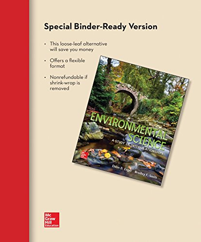 9781259298394: Loose Leaf Version for Environmental Science