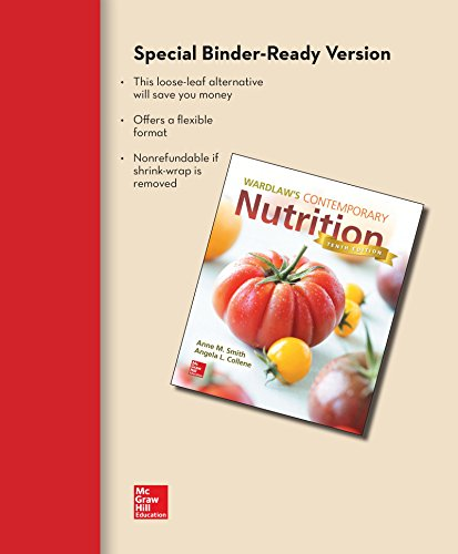 9781259298509: Loose Leaf for Wardlaw's Contemporary Nutrition