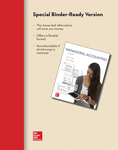 9781259299551: Loose-Leaf for Managerial Accounting