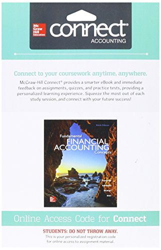 9781259300196: Connect 1 Semester Access Card for Fundamental Financial Accounting Concepts
