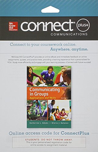 9781259300943: Connect Access Card for Communicating in Groups: Applications and Skills