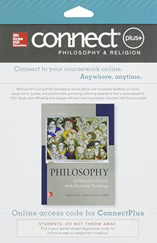 9781259302206: Connect Access Card for Philosophy: A Historical Survey with Essential Readings