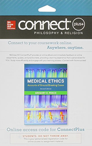 9781259302213: Connect Access Card for Medical Ethics: Accounts of Ground-Breaking Cases
