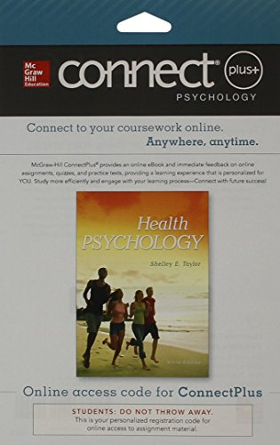 9781259302244: Connect Access Card for Health Psychology