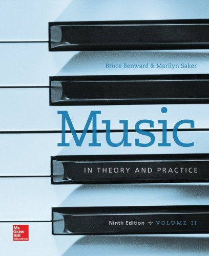 9781259302282: Music in Theory and Practive Vol II with Workbook