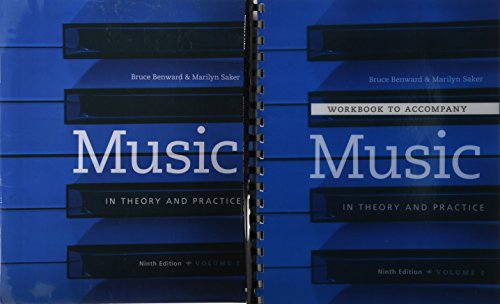 9781259302299: 1: Music in Theory and Practice Vol I with Workbook