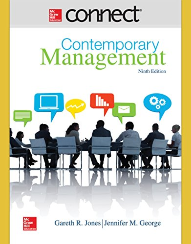 9781259303128: Connect 1 Semester Access Card for Contemporary Management