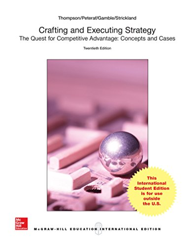 9781259303630: Loose-Leaf for Crafting and Executing Strategy: Concepts and Cases