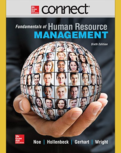 9781259303661: Connect 1 Semester Access Card for Fundamentals of Human Resource Management
