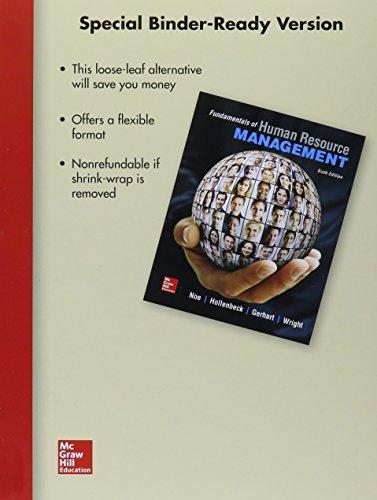 9781259304415: Loose-Leaf for Fundamentals of Human Resource Management