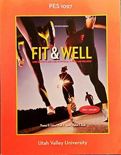 9781259310119: Fit & Well: Core Concepts and Labs in Physical Fitness and Wellness