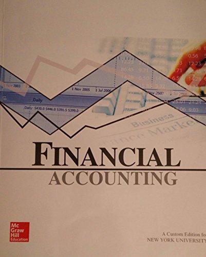 9781259313431: Financial Accounting - NYU Edition