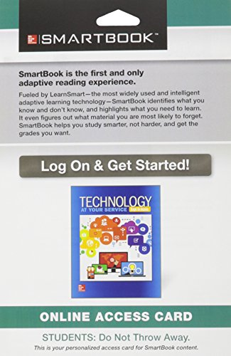 9781259314490: SmartBook Access Card for Technology: At Your Service, 1e