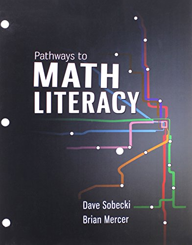 9781259316661: Pathways to Math Literacy with McGraw-Hill Connect Access Card