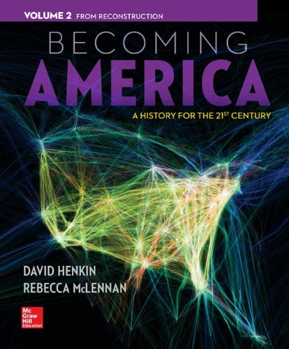 9781259317415: Becoming America Vol 2 w/ Connect Plus 1 Term Access Card