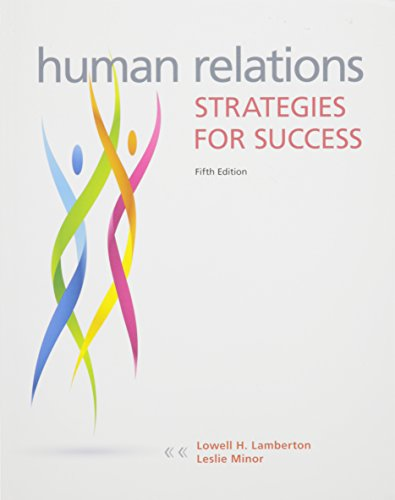 9781259322143: Human Relations with Connect Access Card