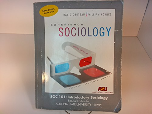 9781259322877: Experience Sociology (Sociology 101:Introductory Sociology Special Edition for ARIZONA STATE UNIVERSITY - TEMPE)