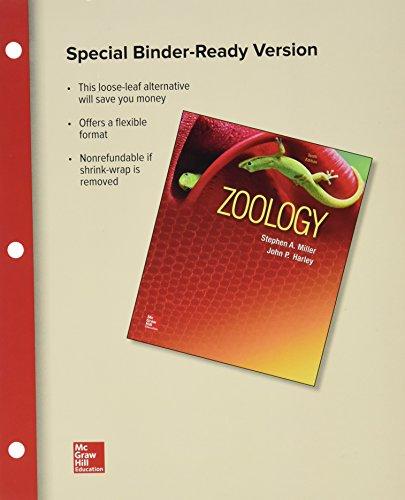 Loose Leaf for Zoology: Stephen A Miller