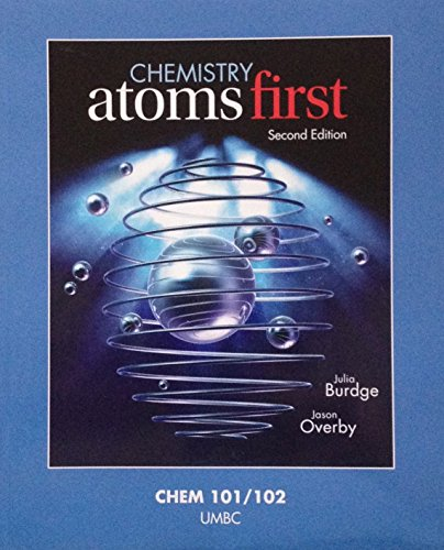 9781259324840: Chemistry: Atoms First; Second Edition; UMBC Version