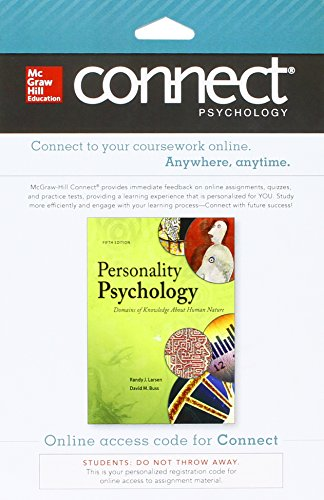 9781259326936: Connect Access Card for Personality Psychology: Domains of Knowledge About Human Nature