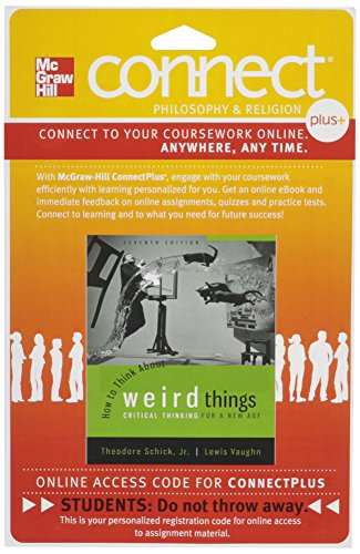 9781259327179: Connect Access Card for How to Think About Weird