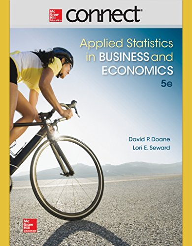 9781259328558: Connect Access Card for Applied Statistics in Business and Economics