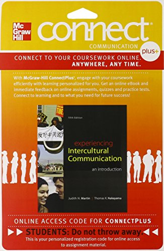 9781259330186: Connect Access Card for Experiencing Intercultural Communication