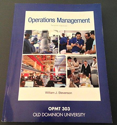 9781259330766: Operations Management (OPMT 303 Custom Old Dominion University)