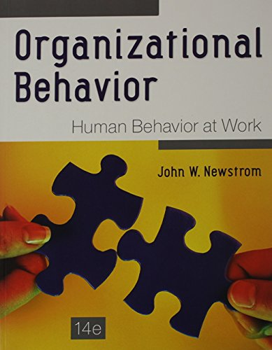 9781259330919: Organizational Behavior: Human Behavior at Work with Connect Access Card