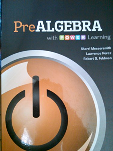 9781259332135: PreAlgebra with P.O.W.E.R. learning