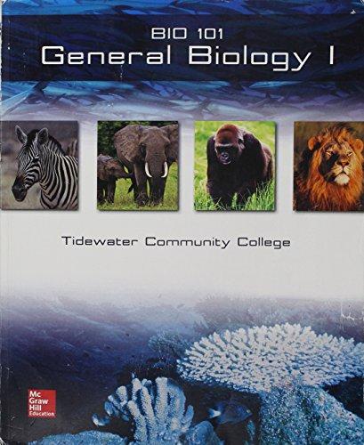 9781259332265: General Biology I - Bio 101 (Tidewater Community College)