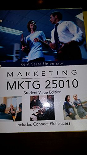 9781259332463: Marketing [12e] (MKTG 25010) [Custom for Kent State Univeristy]
