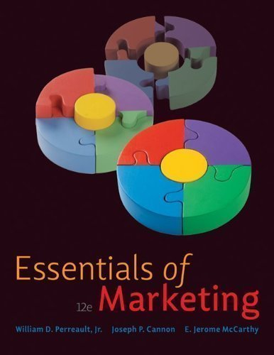 9781259334429: Essentials of Marketing by William D. Perreault Jr., Joseph P. Cannon, E. Jerome McCart 12th (twelfth) Edition [Paperback(2009)]