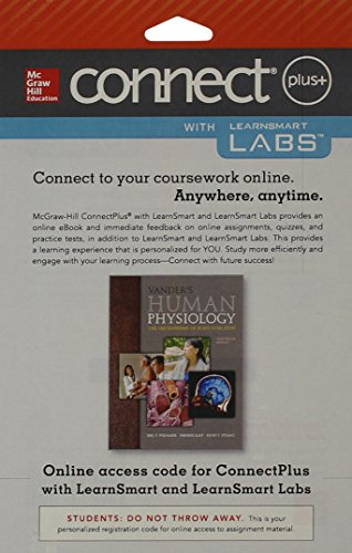 9781259334627: Connect and LearnSmart Labs Access Card for Vander's Human Physiology