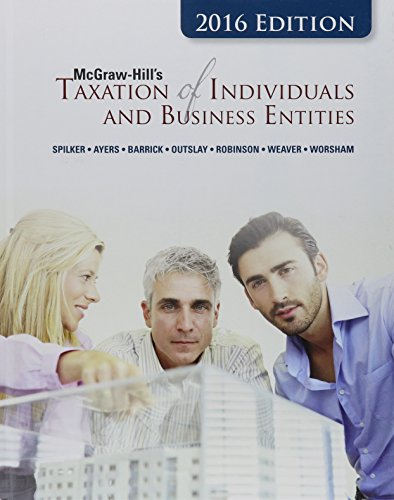 9781259334870: McGraw-Hill's Taxation of Individuals and Business Entities, 2016 Edition