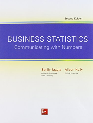 9781259335075: Loose Leaf for Business Statistics: Communicating with Numbers