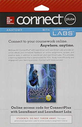 9781259335983: Connect and LearnSmart Labs Access Card for Seeley's Anatomy & Physiology