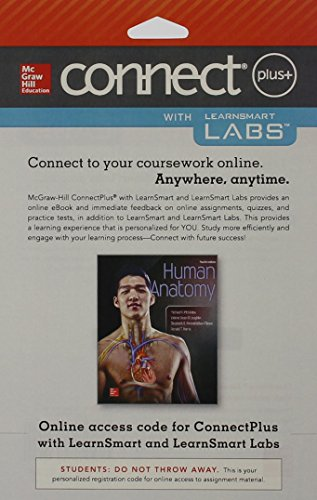 9781259337383: Connect and LearnSmart Labs Access Card for Human Anatomy