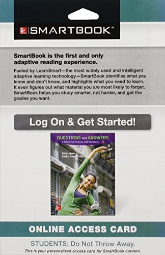 9781259337604: SmartBook Access Card for Questions and Answers: A Guide to Fitness and Wellness