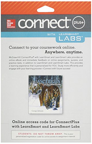 9781259337895: Connect and LearnSmart Labs Access Card for Essentials of The Living World