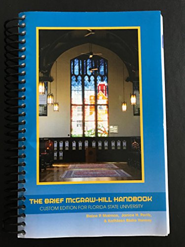 The Brief McGraw-Hill Handbook Custom Edition For: n/a