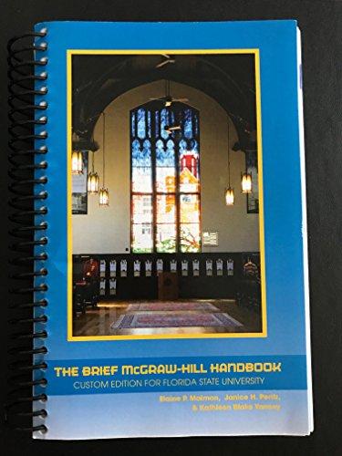 9781259340536: The Brief McGraw-Hill Handbook Custom Edition For Florida State University