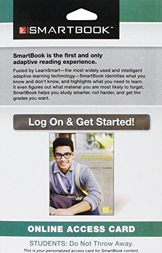 9781259342554: SmartBook Access Card for Understanding Psychology