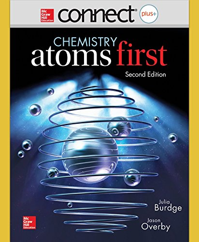 9781259343766: Combo: Connect Access Card Chemistry with LearnSmart 1 Semester Access Card for Chemistry - Atoms First with ALEKS for General Chemistry Access Card 1 semester (Connect Plus With Learn Smart)