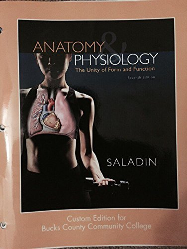 9781259343773: Anatomy & Physiology: The Unity of Form and Function - 7th Edition (Loose-leaf) [Bccc Customized]